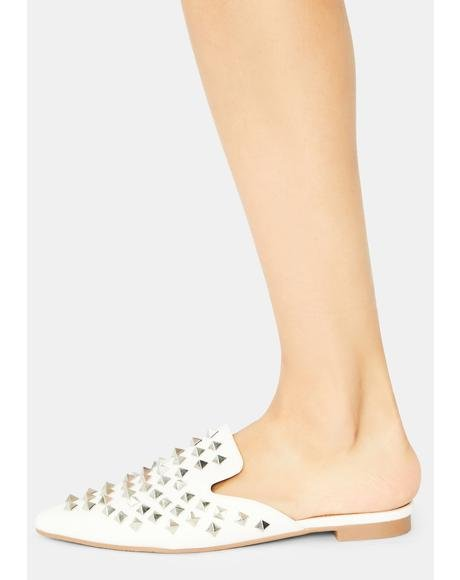 Ivory I Dare You Stud Flats