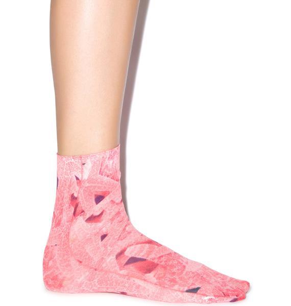 Hot!MeSS Allsorts & Starfish Pop Socks Set