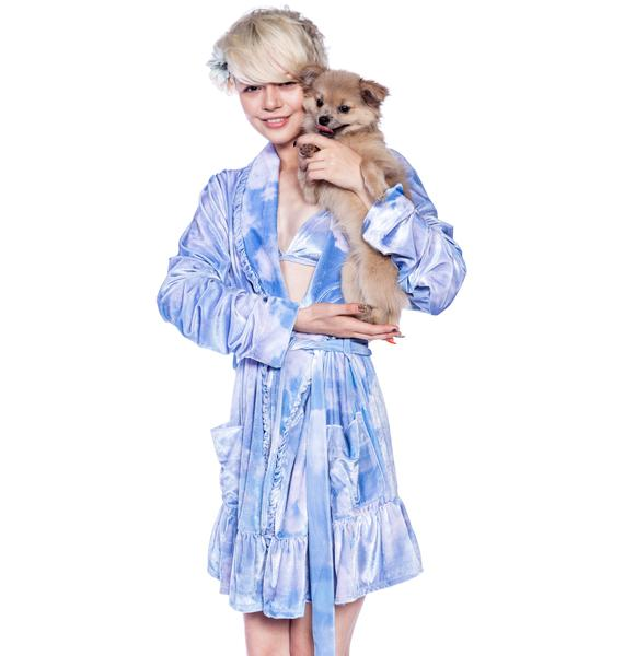Wildfox Couture Cloudy Sky Robe