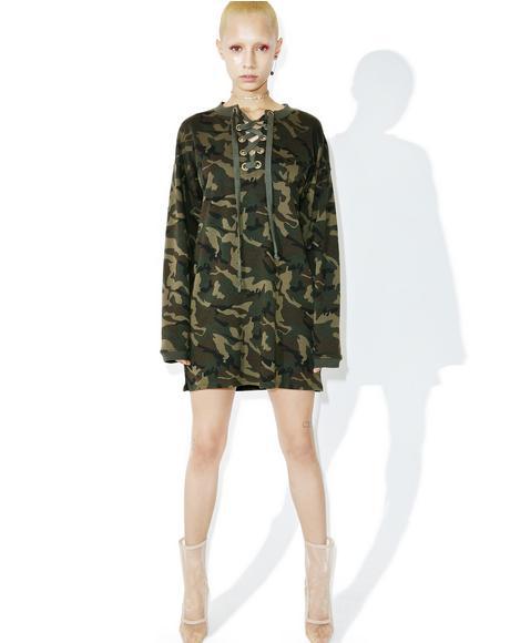 Jungle Fever Sweater Dress