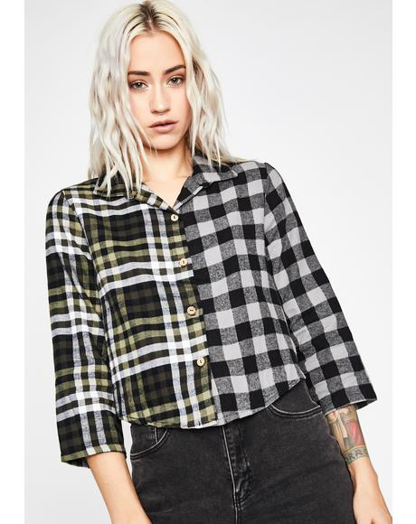 New Crew Plaid Shirt