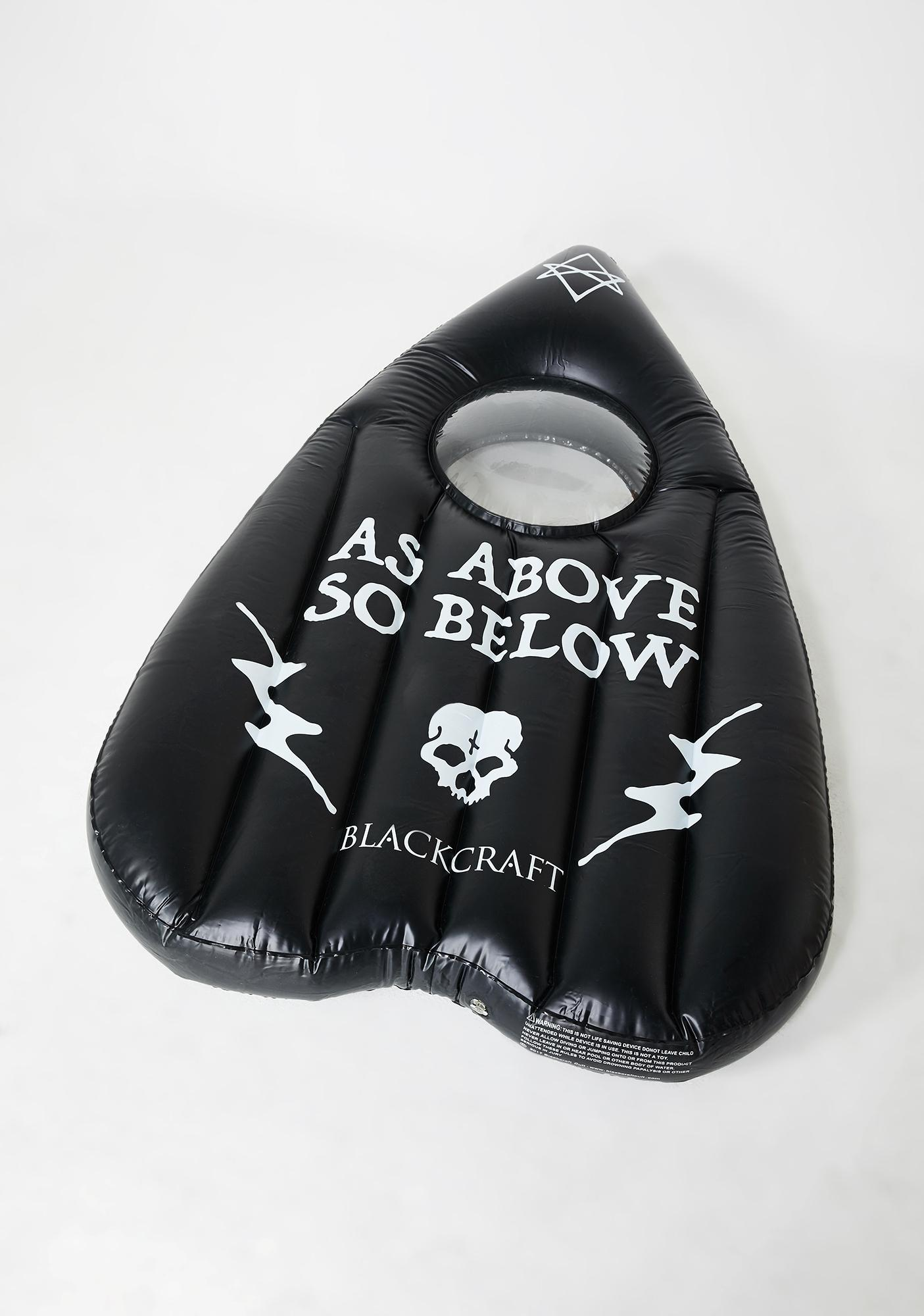 Blackcraft Planchette Pool Float