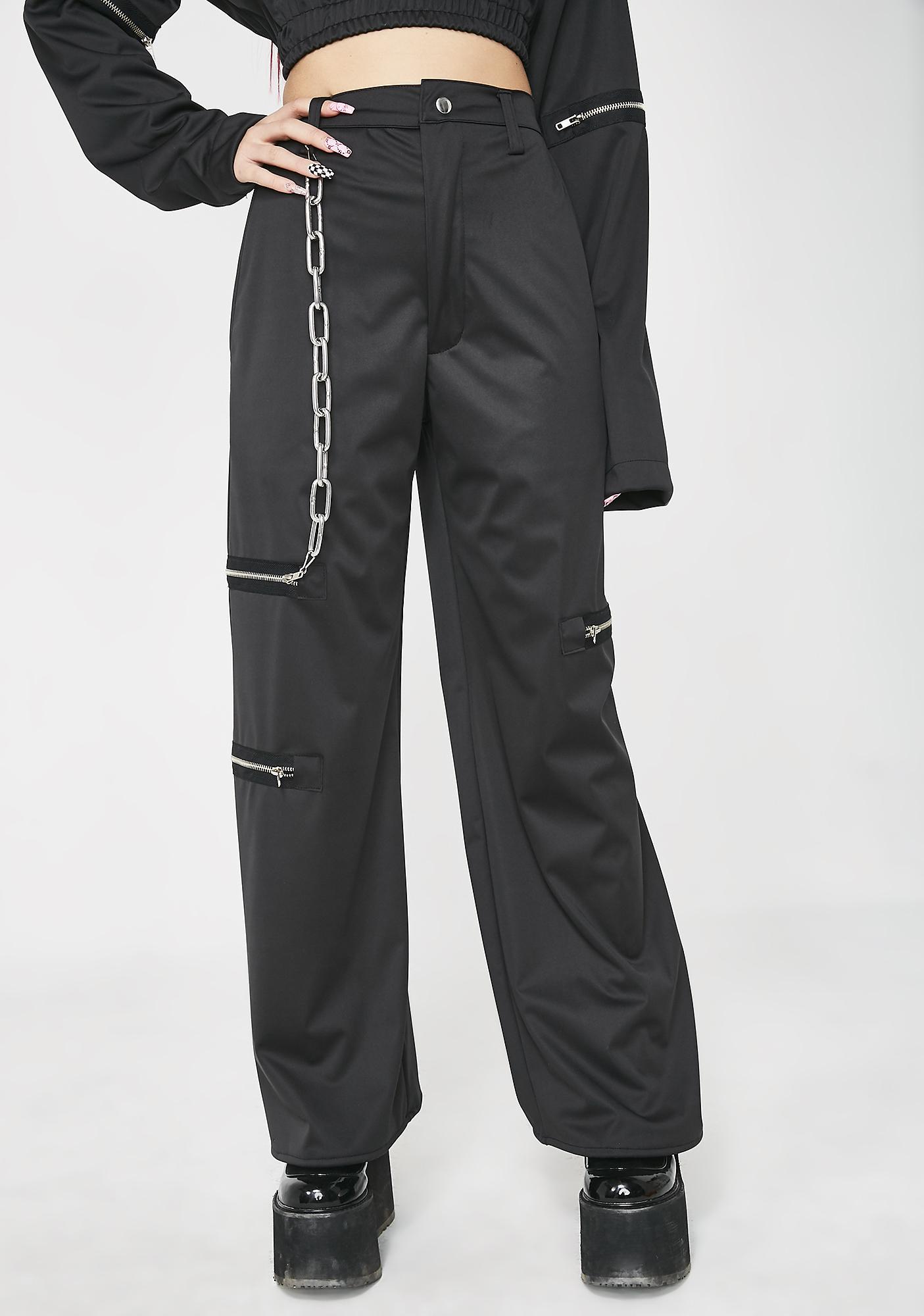 ESQAPE Chainge Wide Leg Pants