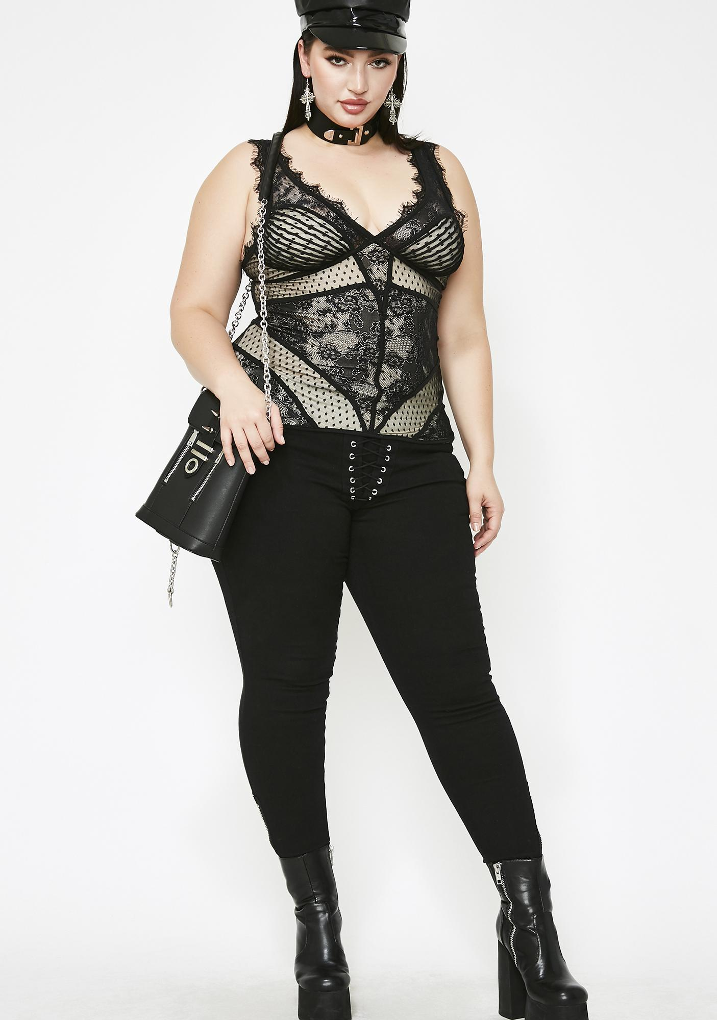 Pure Savage Seduction Lace Top
