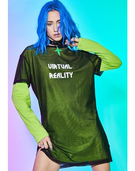 Fuxx Reality Mesh Top