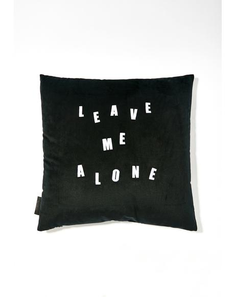 Midnight Leave Me Alone Pillow