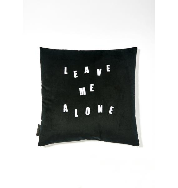 Lazy Oaf Midnight Leave Me Alone Pillow