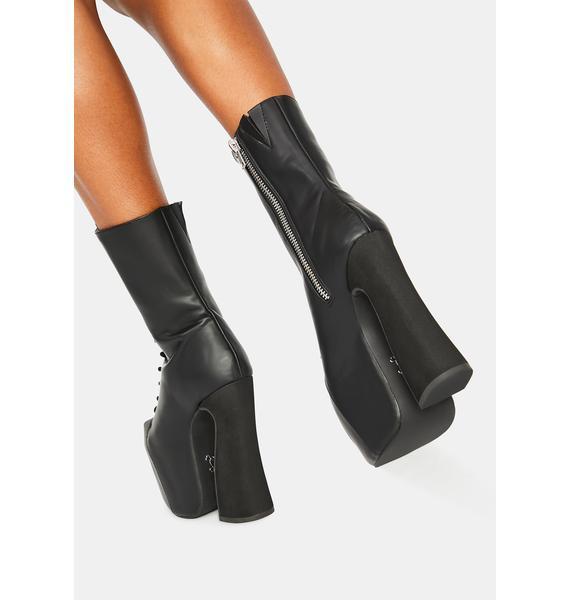 Charla Tedrick Zelda Platform Boots