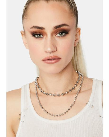 Broken Dreams Ball Chain Necklace