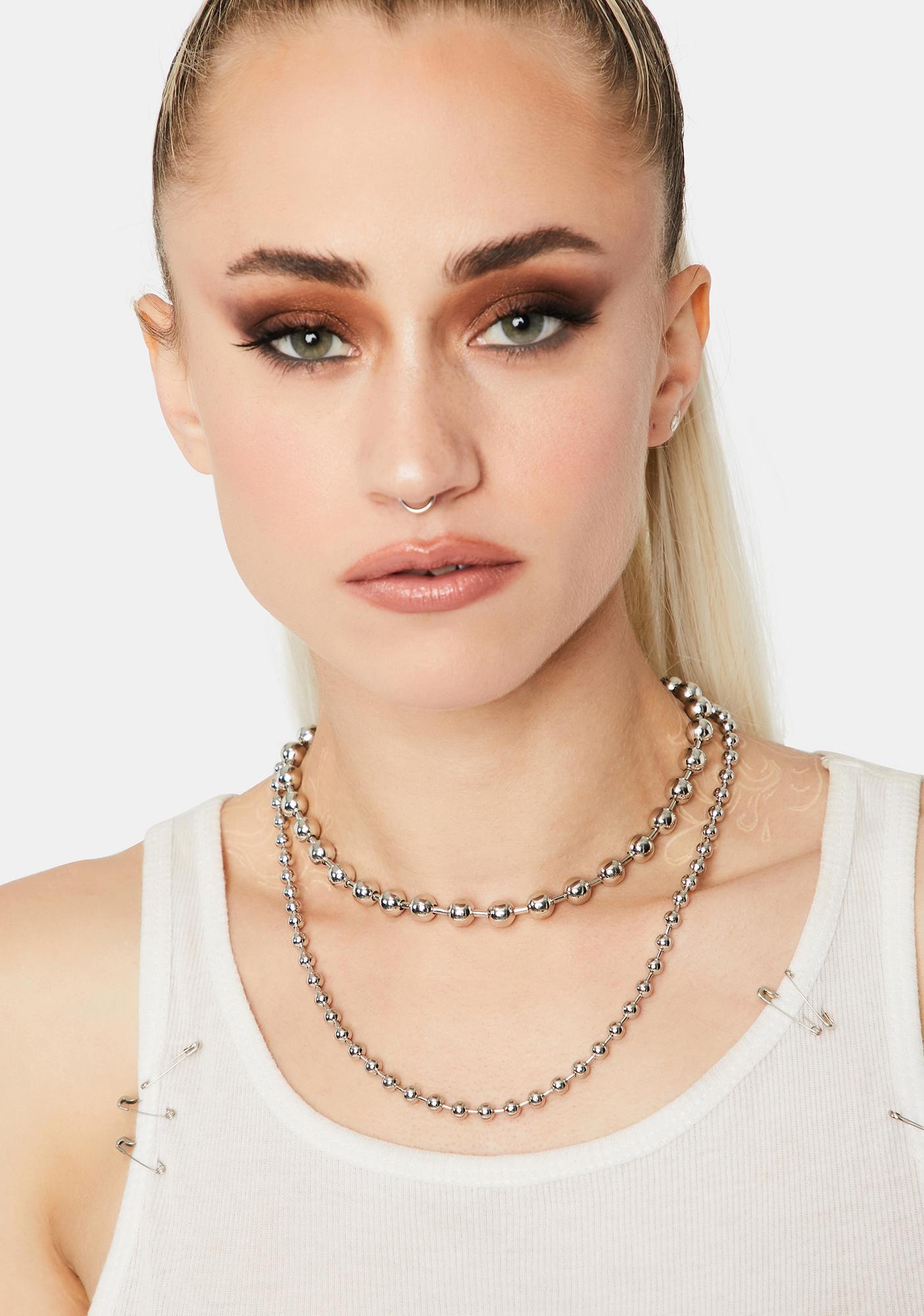 Broken Dreams Ball Chain Necklace