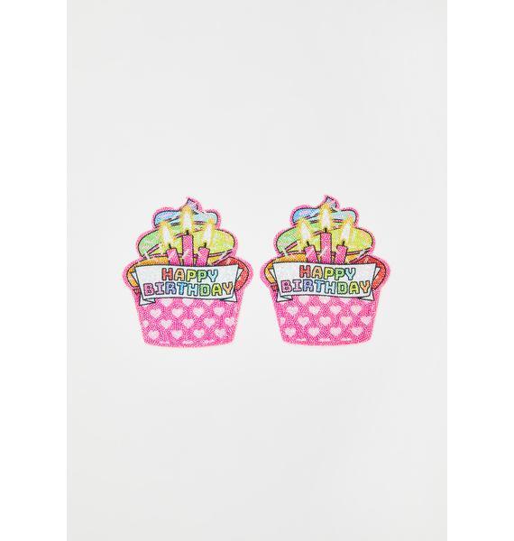Pastease Pink Cupcake Pasties
