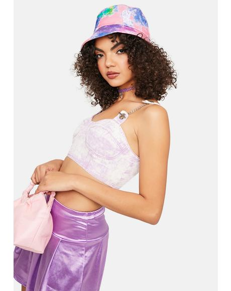 Outta Limits Lilac Crop Top