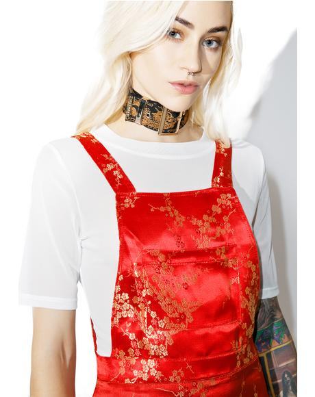 Bao Pinafore Dress