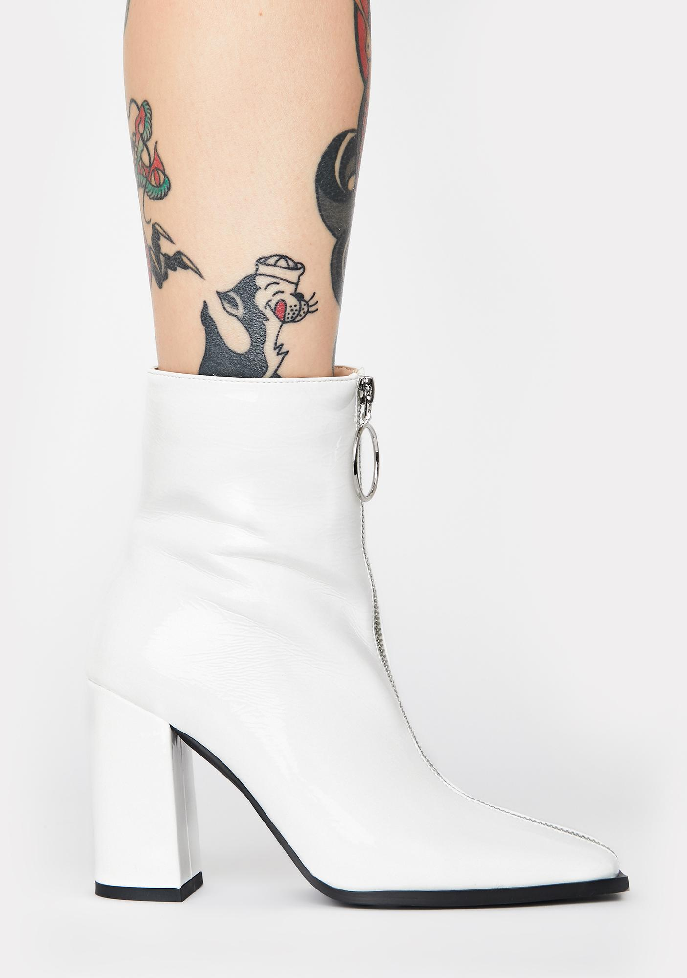 Public Desire Payback Ankle Boots