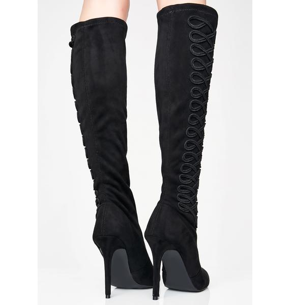 Band Hottie Pointed Boots