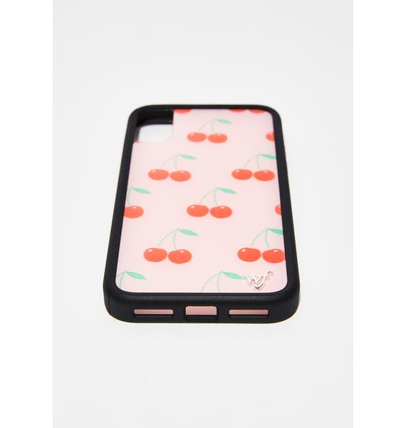 Wildflower Cherry IPhone X Case