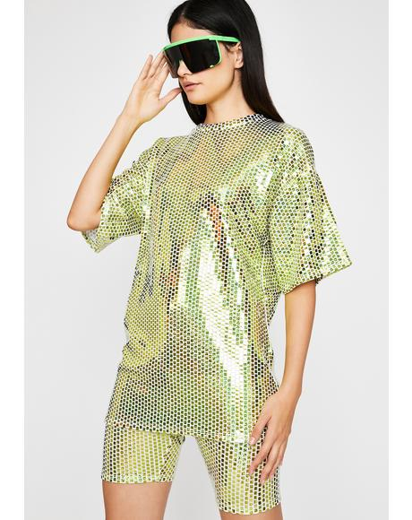Neon Reaction Sequin Set