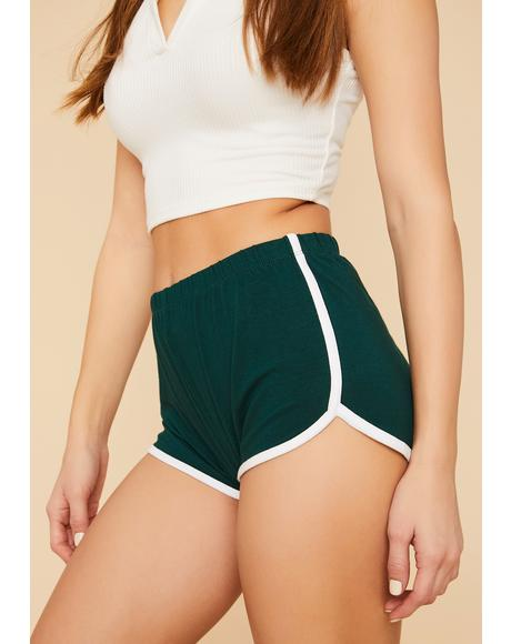 Emerald Playtime's Over Dolphin Shorts