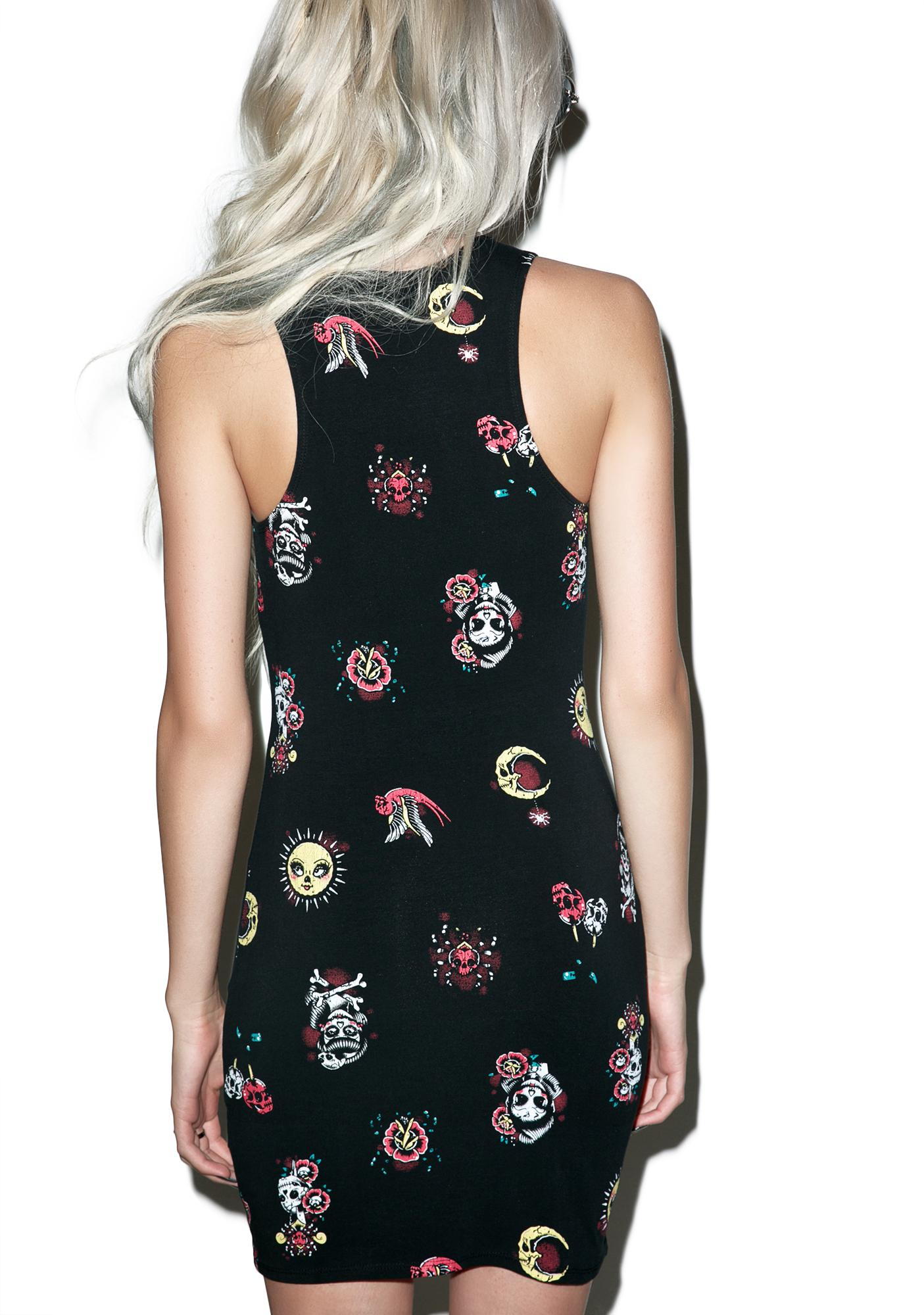 Iron Fist Mexican Moon Dress