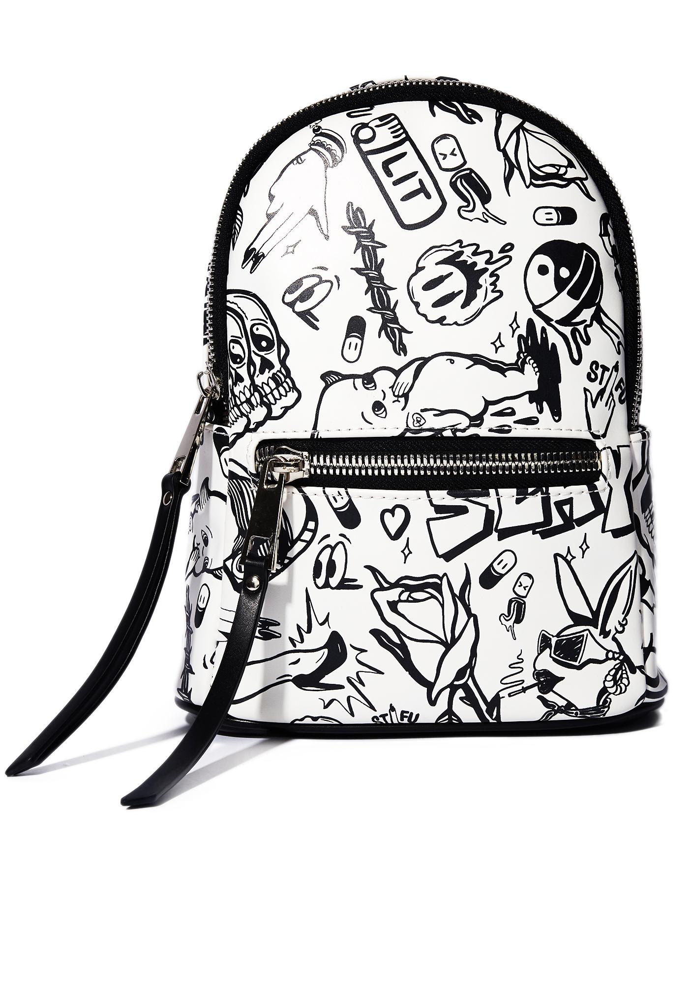 Current Mood Show Me Your Doodles Mini Backpack