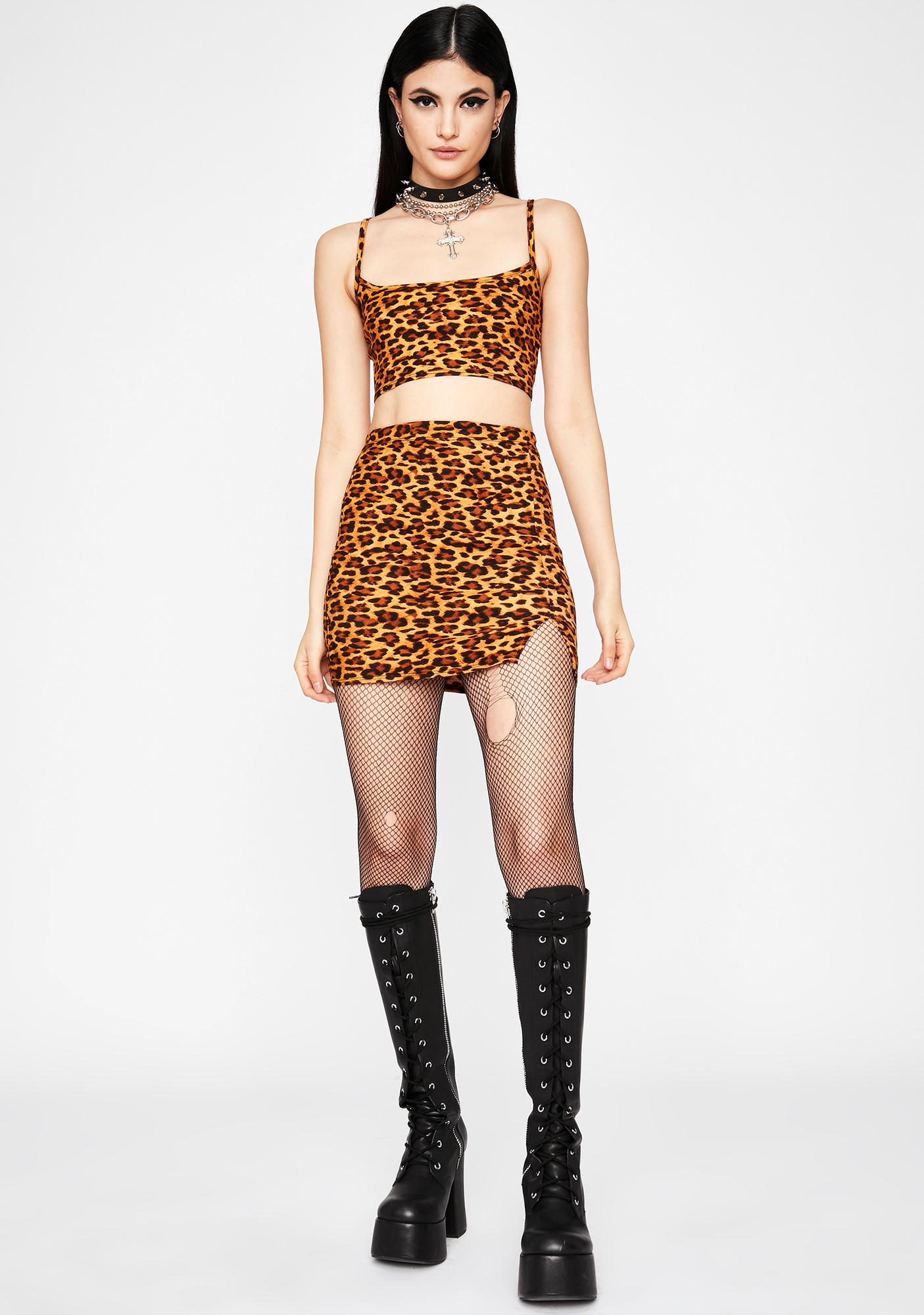 Feral Soul Mini Skirt Set