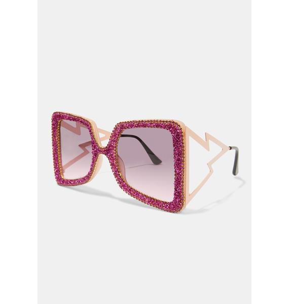 Act Fast Oversized Sunglasses