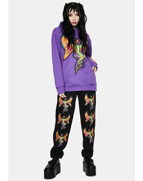 Goddess Graphic Sweatpants