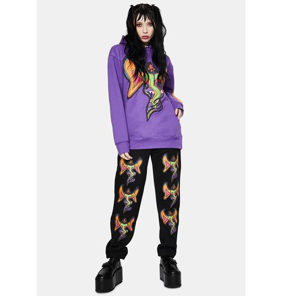 CHINATOWN MARKET Goddess Graphic Sweatpants