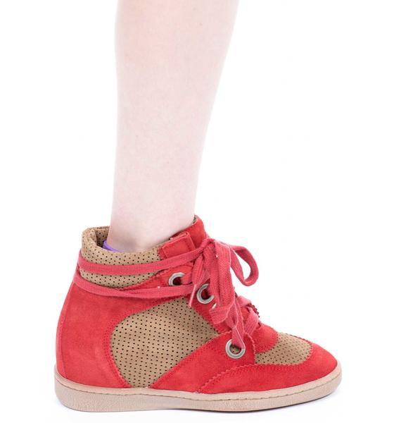MTNG Amberes Platform Sneakers