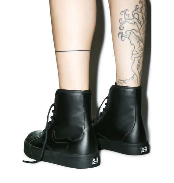 T.U.K. Black Out Kitty Boot