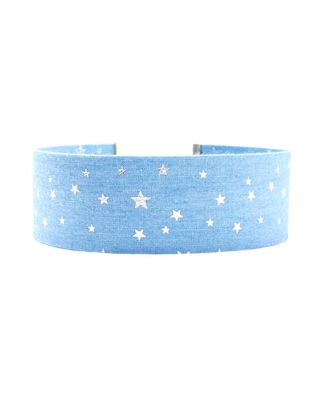 Written In The Stars Denim Choker