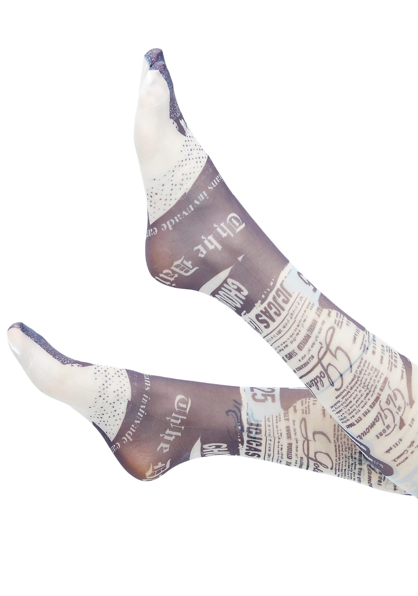 Stance Most Wanted Thigh-High Socks