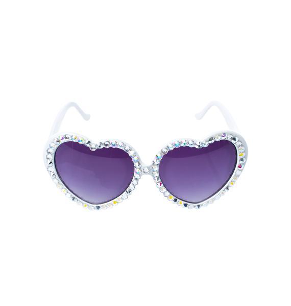 Gasoline Glamour Crystal Lolita Sunglasses