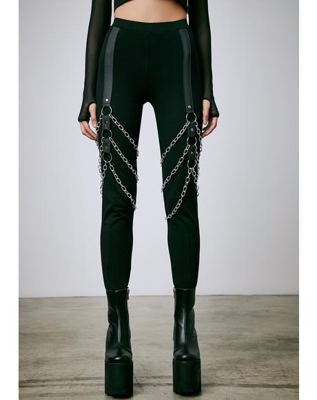 Chain Of Command Harness Leggings