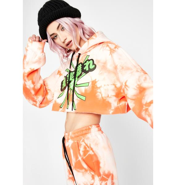 Current Mood Juicy Fresh Crop Hoodie