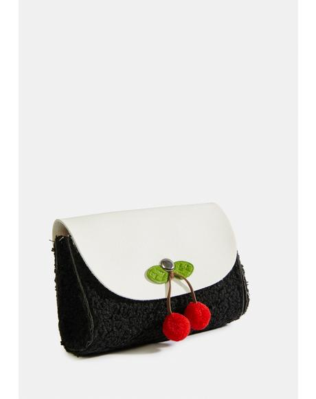 Midnight Pie In The Sky Cherry Purse