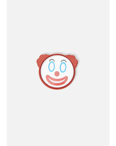Clown Mirror Pin