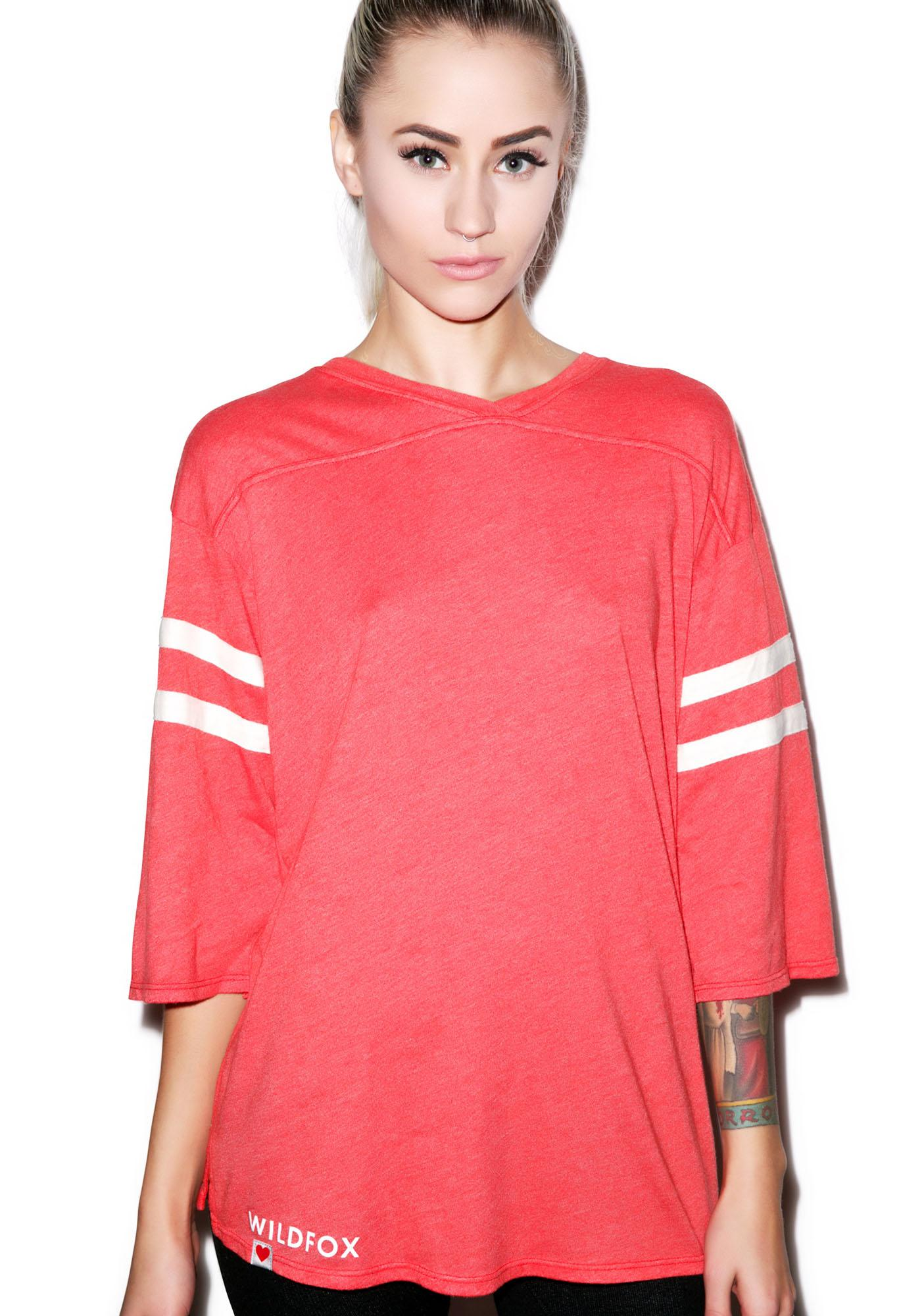 Wildfox Couture Classic Fox Jersey Tunic