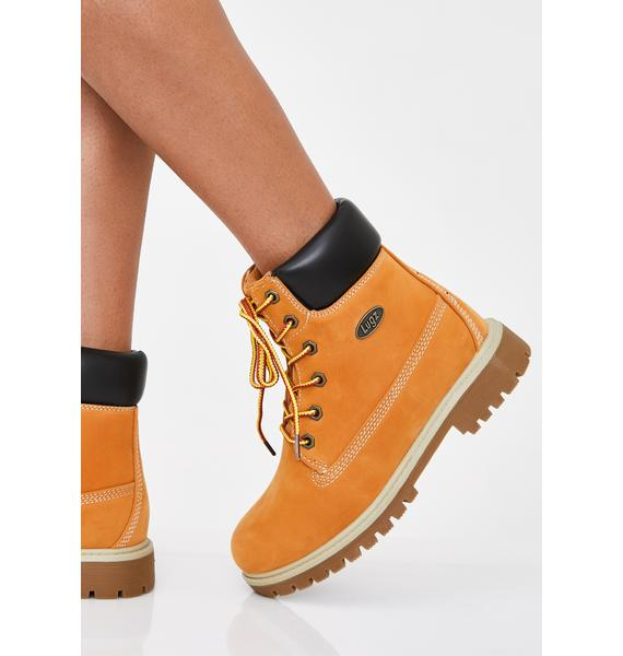 Lugz Rucker Hi Ankle Boots