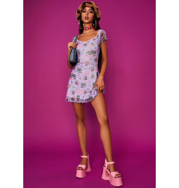 Dolls Kill x Bratz Bratty Since Birth Sweetheart Dress