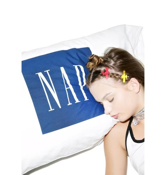 Petals and Peacocks Nap Pillowcase Set