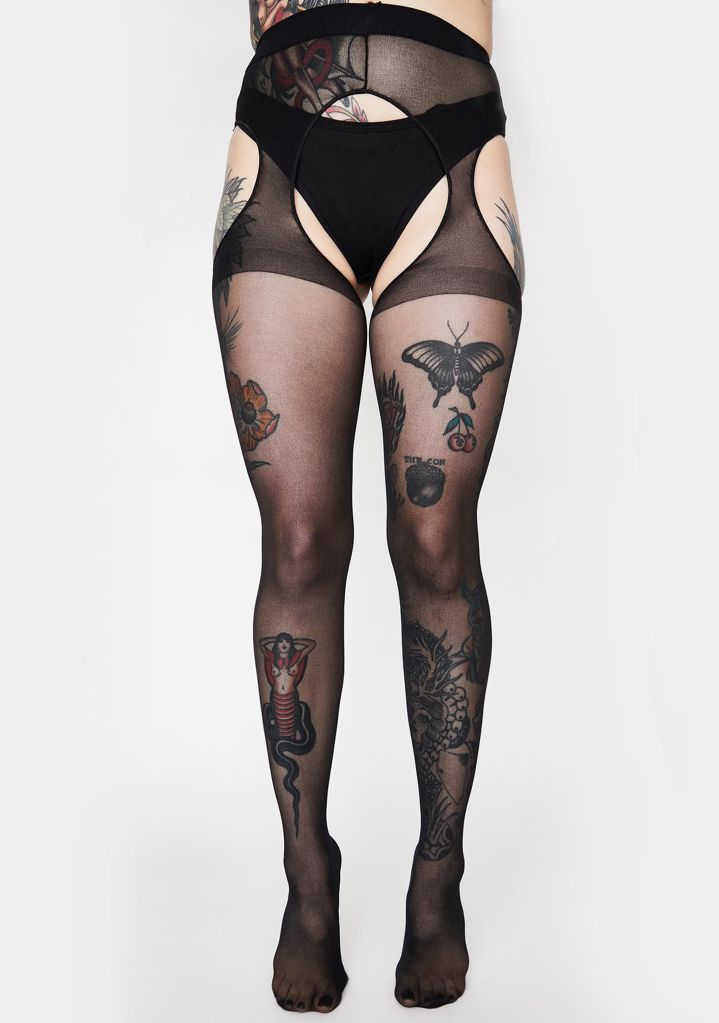 Tell Me More Suspender Tights