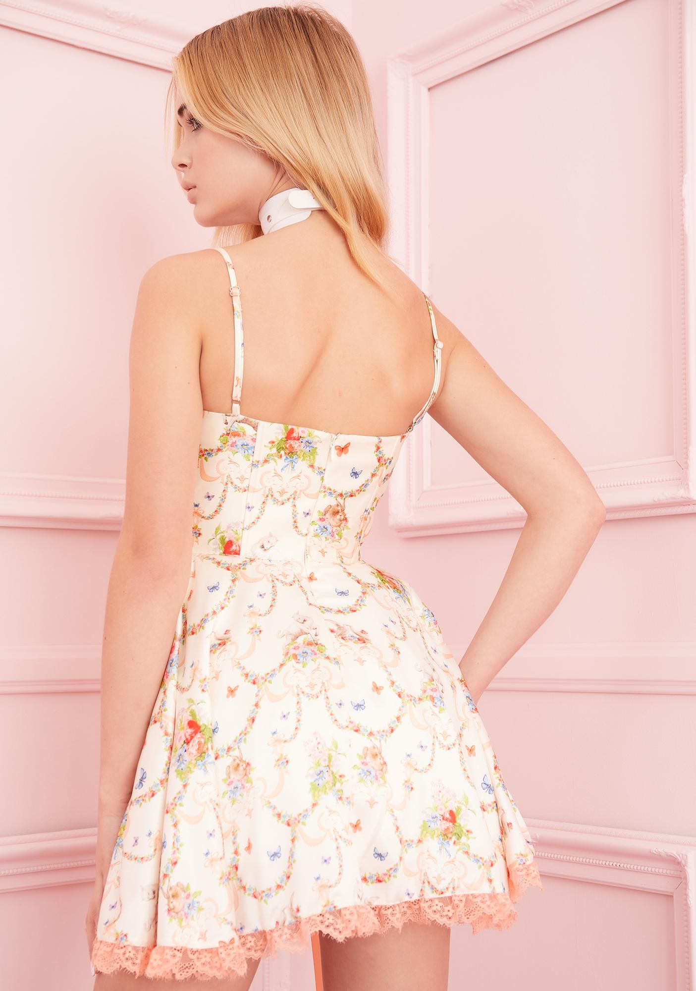 Sugar Thrillz Lush Opulence Corset Dress