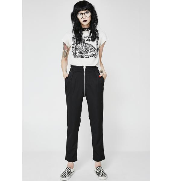 Disturbia Edith Zip Trousers