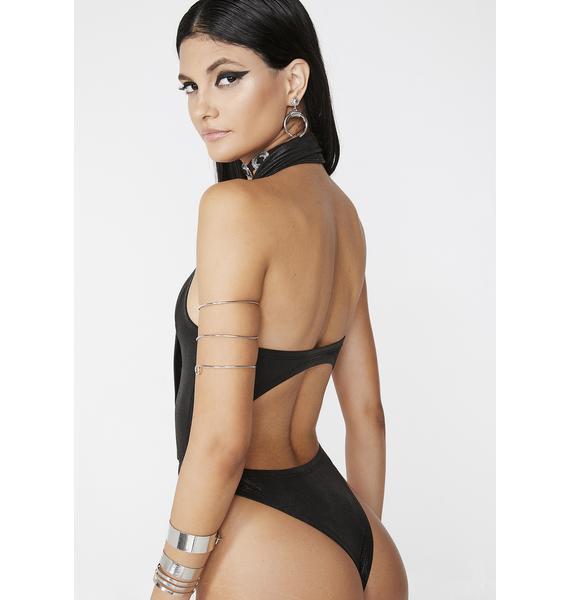 Club Exx Whiskey Tango Cutout Bodysuit