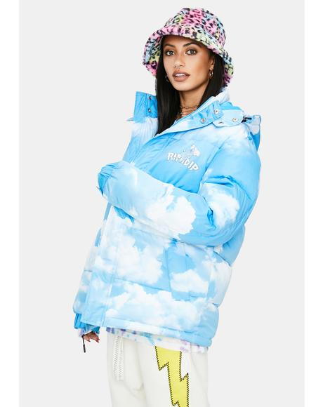 Heaven And Hell Puffer Jacket