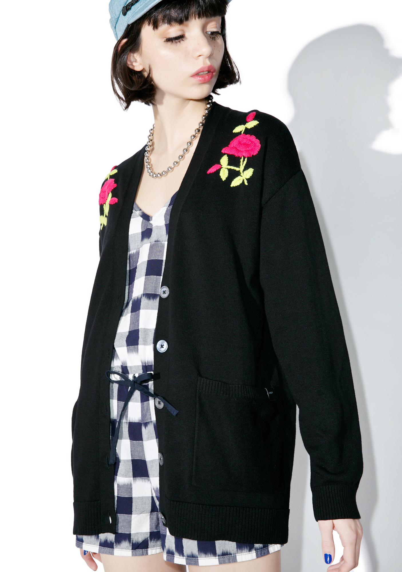 Obey Heavy Petal Cardigan