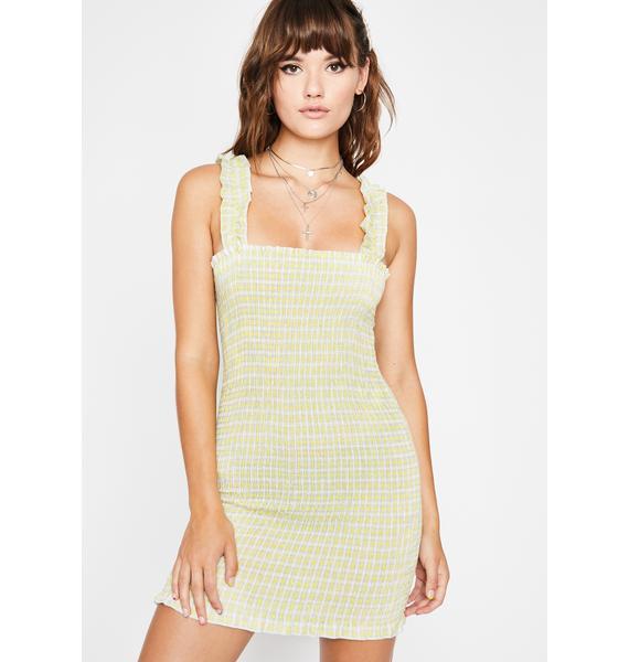 Sunshine Little Crush Gingham Dress