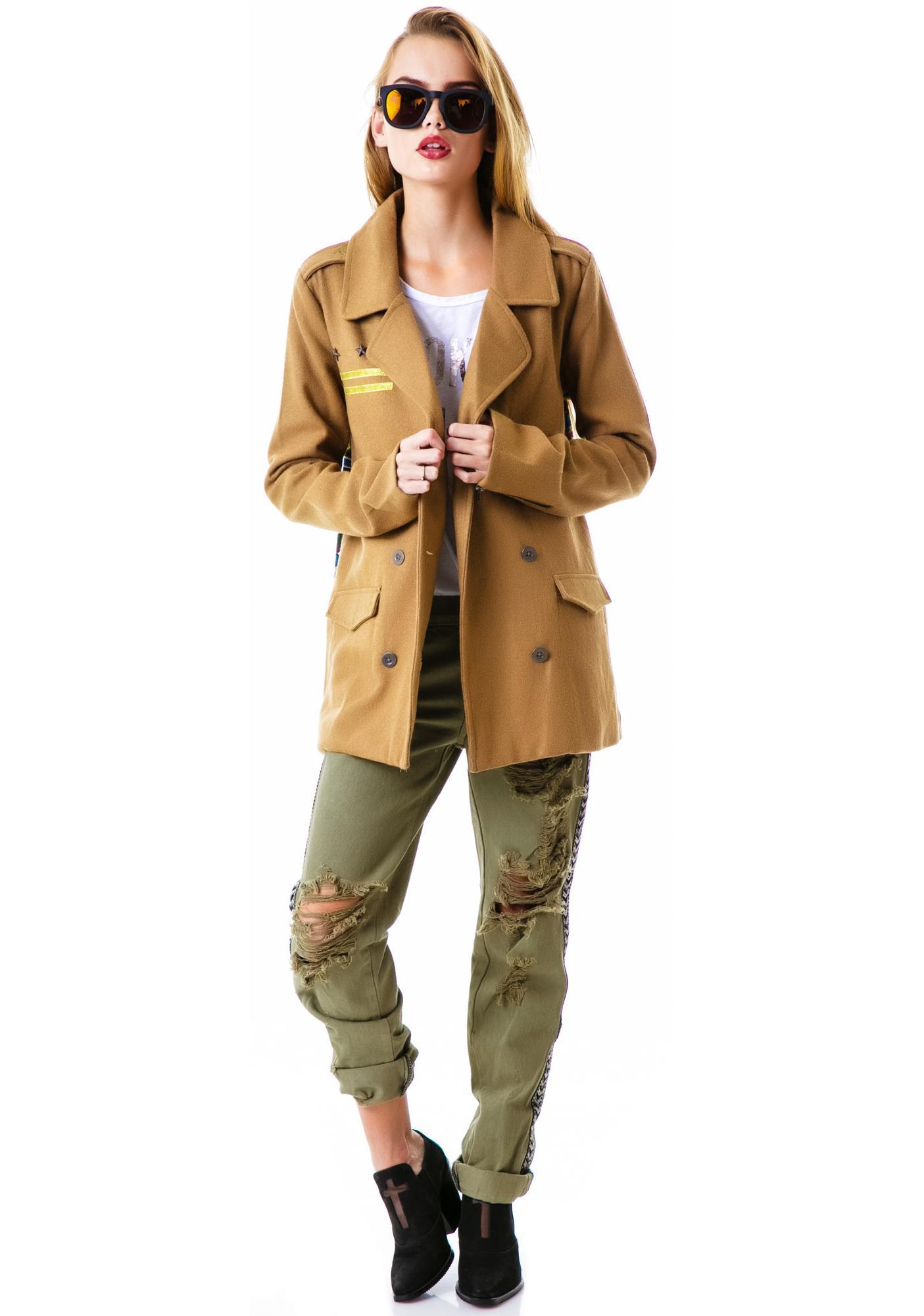 One Teaspoon Smith Jones Military Jacket