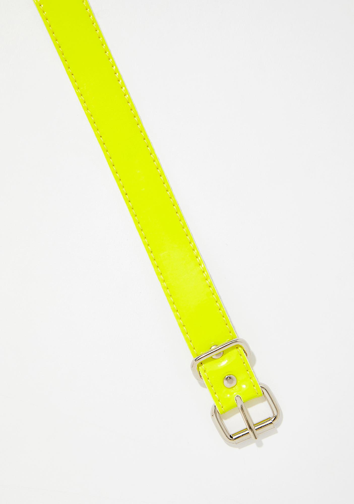 Happy Microdose Neon Choker